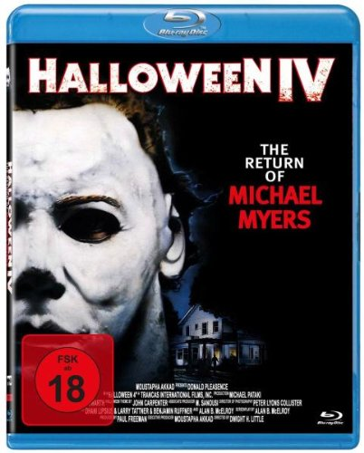 Halloween IV - The Return Of Michael Myers [Blu-ray]