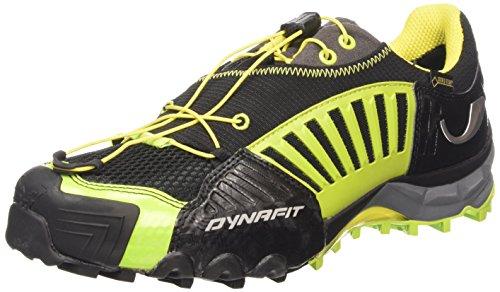 DynafitMS FELINE GTX - Scarpe da trail running uomo , Nero (Schwarz (0916 Black/Cactus)), 44