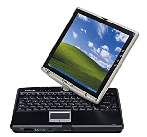 Toshiba Portege M205-S810 Tablet PC (1.50 GHz Pentium M (Centrino), 512 MB RAM, 60 GB Hard Drive, USB DVD-CD-RW Combo)
