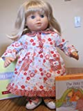 Bitty Baby Crazy Daisy Nightie Outfit + Book for Dolls (American Girl Bitty Baby / Bitty Twins)
