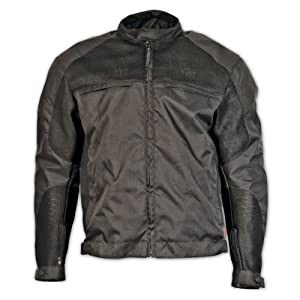 Milwaukee Motorcycle Clothing Company Mesh Scooter Jacket (Black) from Milwaukee Motorcycle Clothing Company