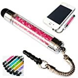 No1accessory new pink crystal shaft stylus pen for Windows Phone 8S by HTC