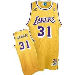 adidas Los Angeles Lakers Kurt Rambis Soul Swingman Jersey by adidas