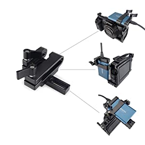 MAGICRIG Mount for T5 SSD Card Clamp with USB-C Cable Clamp Compatible with MAGICRIG Camera Cage for BMPCC 4K Camera