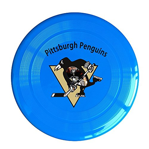 YQUE56 Unisex Pittsburgh Ice Hockey Team Logo Outdoor Game Frisbee Sport Disc RoyalBlue