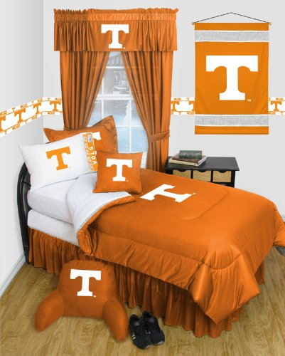 Tennessee Volunteers 8 Pc QUEEN Comforter Set - Locker Room Series - Entire Set... by Sports Coverage