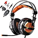 Gaming Headset,AFUNTA Sades 928 3.5mm Plug Professional Multi-function Stereo Over-ear Headphone For Electronical...