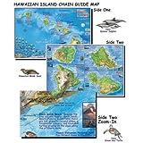 Franko mapas islas hawaianas mapa para el buceo y esnorquel