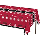 Creative Converting Alabama Crimson Tide Plastic Banquet Table Cover