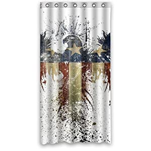 eagle custom 36 x 72 shower curtain 7 holes to which rings attach shower curtain. Black Bedroom Furniture Sets. Home Design Ideas