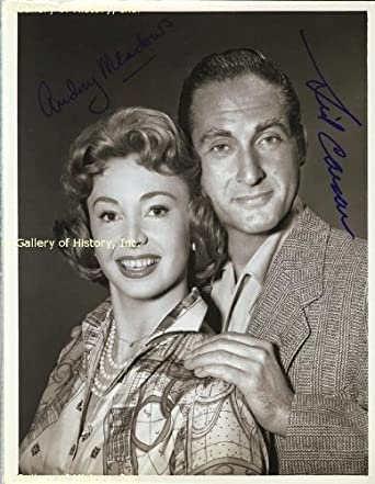 1959 co signed by sid caesar audrey meadows at amazon s