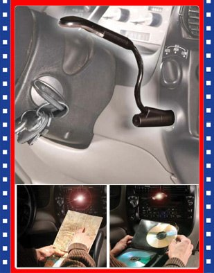 Auto Car Flexible Interior Plug In Map Reading Light