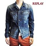 リプレイ  REPLAY デニムジャケット [メンズ] MV834A-118-030 【S・M・Lサイズ】