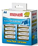 Maxell LR6 AA Cell 48-Pack Box Batter...