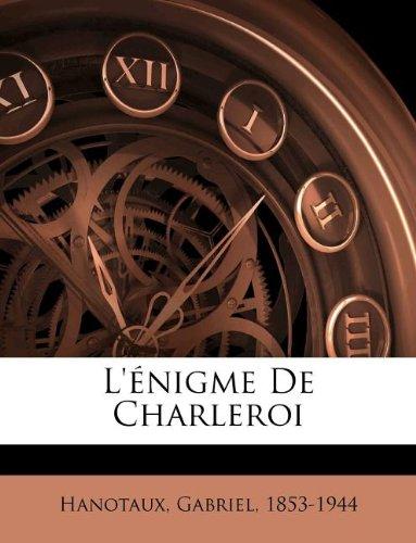 L'énigme De Charleroi