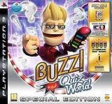 echange, troc Buzz!: Quiz World Special Edition inkl. Sammlerbox, Werbecode für zwei Quizpakete, 1 Set Wireless-Buzz!-Buzzer [import alleman