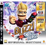 "Buzz!: Quiz World Special Edition inkl. Sammlerbox, Werbecode f�r zwei Quizpakete, 1 Set Wireless-Buzz!-Buzzervon ""Sony Computer..."""