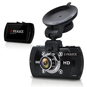 E-PRANCE 超高画質 400万画像 ドライブレコーダー GPS搭載 2.7インチ フルHD