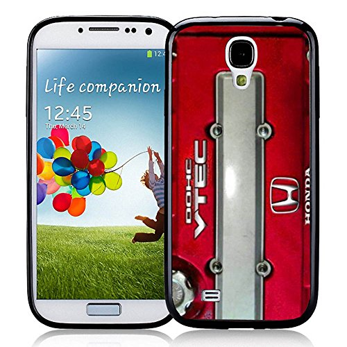 JDM Honda DOHC Vtech Valve Cover Red for Iphone and Samsung Galaxy (Samsung Galaxy S4 black) (Honda Vtech Emblem compare prices)