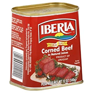 Iberia Corned Beef, 12-Ounce (Pack of 8)
