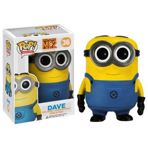 Funko POP Movies Despicable Me: Dave Vinyl Figure