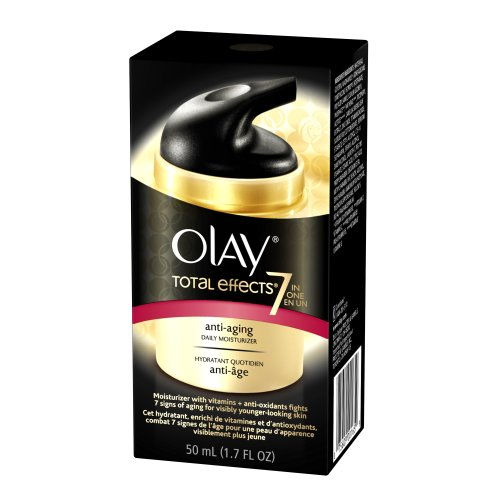 Olay Total Effects 7-IN-1 Anti-Aging Daily Moisturiser, 1.7-Fluid Ounce