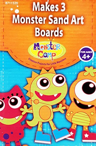 Monster Sand Art Boards - 1