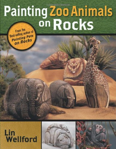 Painting Zoo Animals on Rocks (Rock Painting Animals compare prices)