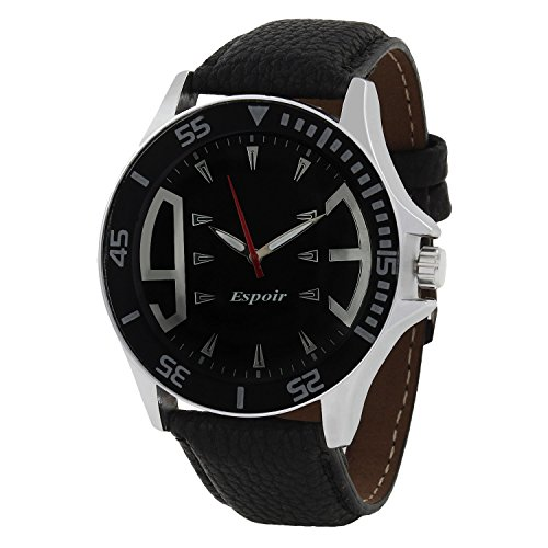 Espoir Analog Black Dial Mens Watch Esp1000