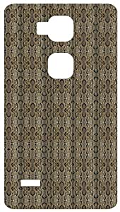 Animal Snake Pattern Back Cover Case for Huawei Ascend Mate 7