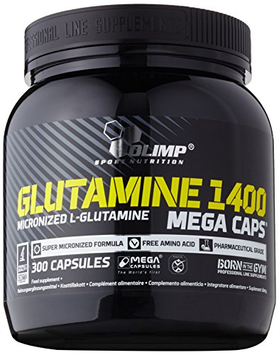 L-Glutamine Mega Caps, 300 Kapseln, (1 x 469.5 g)