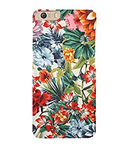 Floral Painting 3D Hard Polycarbonate Designer Back Case Cover for Micromax Canvas Knight 2 E471