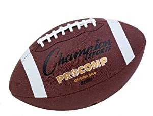 Buy Champion Sports Official Size Composite Football by Champion Sports