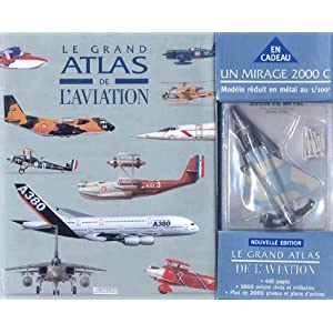 Le Grand Atlas de l'aviation + Alpha Jet (coffret sp�cial)