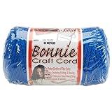 Pepperell 6mm Bonnie Macramé Craft Cord, 100-Yard, Royal Blue