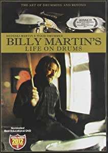 Billy Martin's Life on Drums [DVD] [Import anglais]