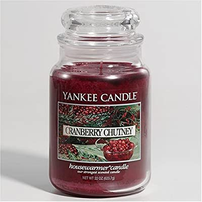 Yankee Candle Large Cranberry Chutney Jar Candle 35974 from Yankee Candle