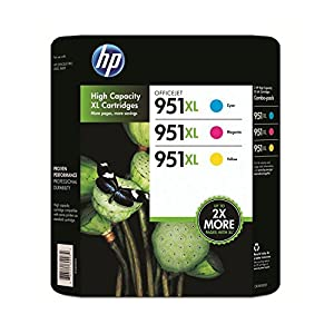 HP 951XL Color Ink Cartridge - Combo Pack