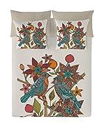 Valentina Juego De Funda Nórdica Birds Branch (Multicolor)