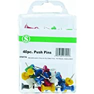 Do it Best GS CC301116 Push Pin - Smart Savers-40PC PUSH PINS