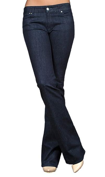 TallWater Jeans Women's Tall Elle Bootcut Jean Dark Indigo