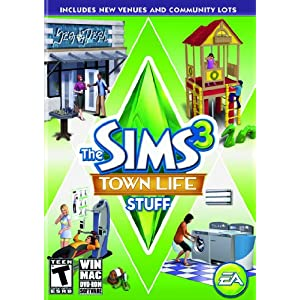 The SIMS 3: Town Life Stuff for Windows
