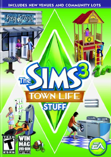The Sims 3: Town Life Stuff - PC/Mac (Sims 3 Clothes compare prices)