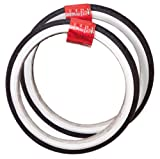 HALFORDS PAIR 18'' X 1.75'' (47-355mm) TYRES Black with White Walls Cheap New