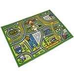 JVL Childrens 80 x 110 cm Map Nursery...