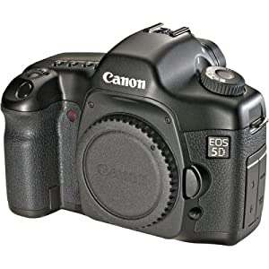Canon EOS 5D 12.8 MP Digital SLR Camera (Body Only)