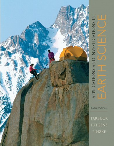 Applications and Investigations in Earth Science (6th...