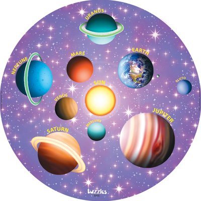 Cheap American Educational Products Tuzzles Solar System Puzzle (B001BC1CL2)
