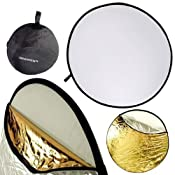 Amazon.com: Neewer 110CM 43&quot; 5-in-1 Collapsible Multi-Disc Light Reflector: Camera &amp; Photo