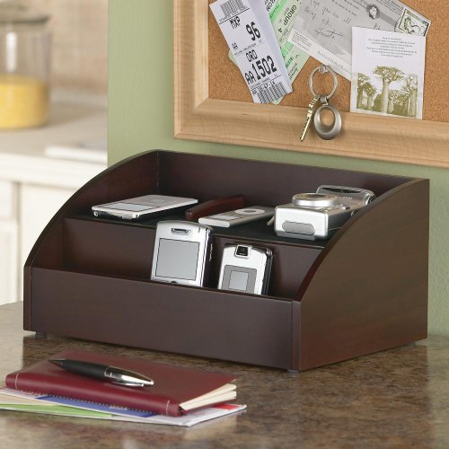 charging station and desk organizer for handheld